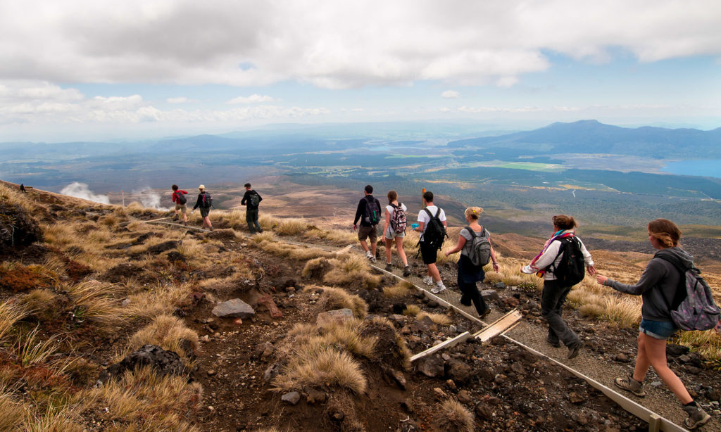 Tongariro Apline Crossing, Foto: Paul Abbitt