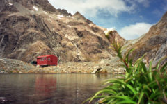 Braker Hut. Arthur's Pass Nationalpark