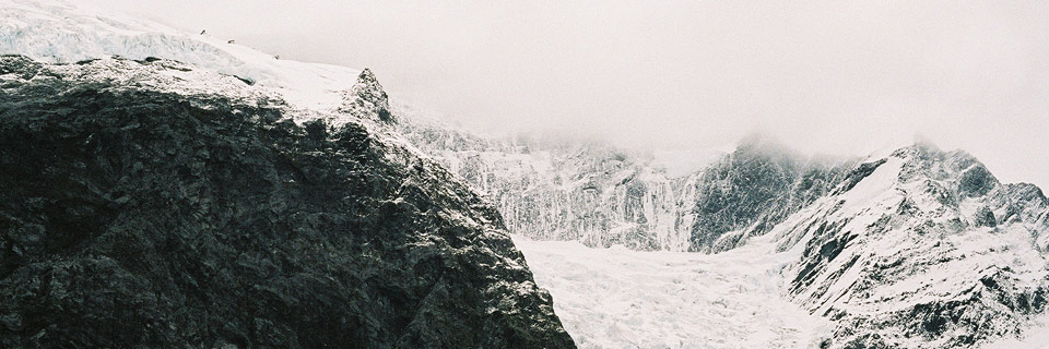 Rob Roy Gletscher, Neuseeland