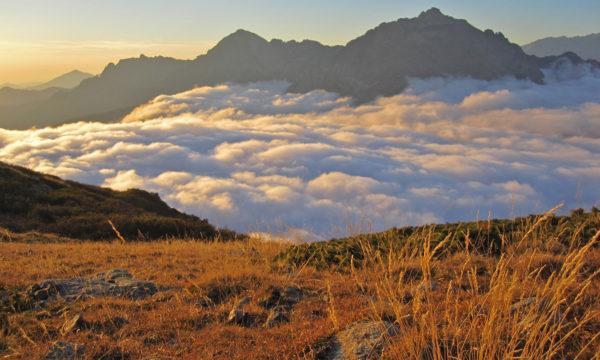 Blick auf den Monte d'Oro