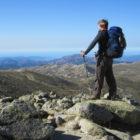 Auf dem Gipfel des Monte Incudine