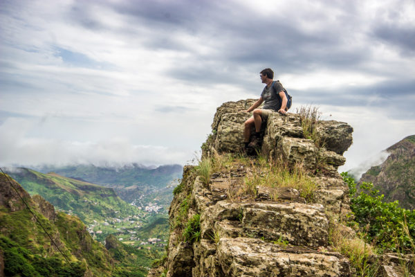 Paul Valley auf Capo Verde, von Larwin / <a href=