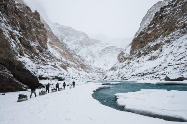 Chadar Trek in Indien von Yongyut Kumsri / Shutterstock