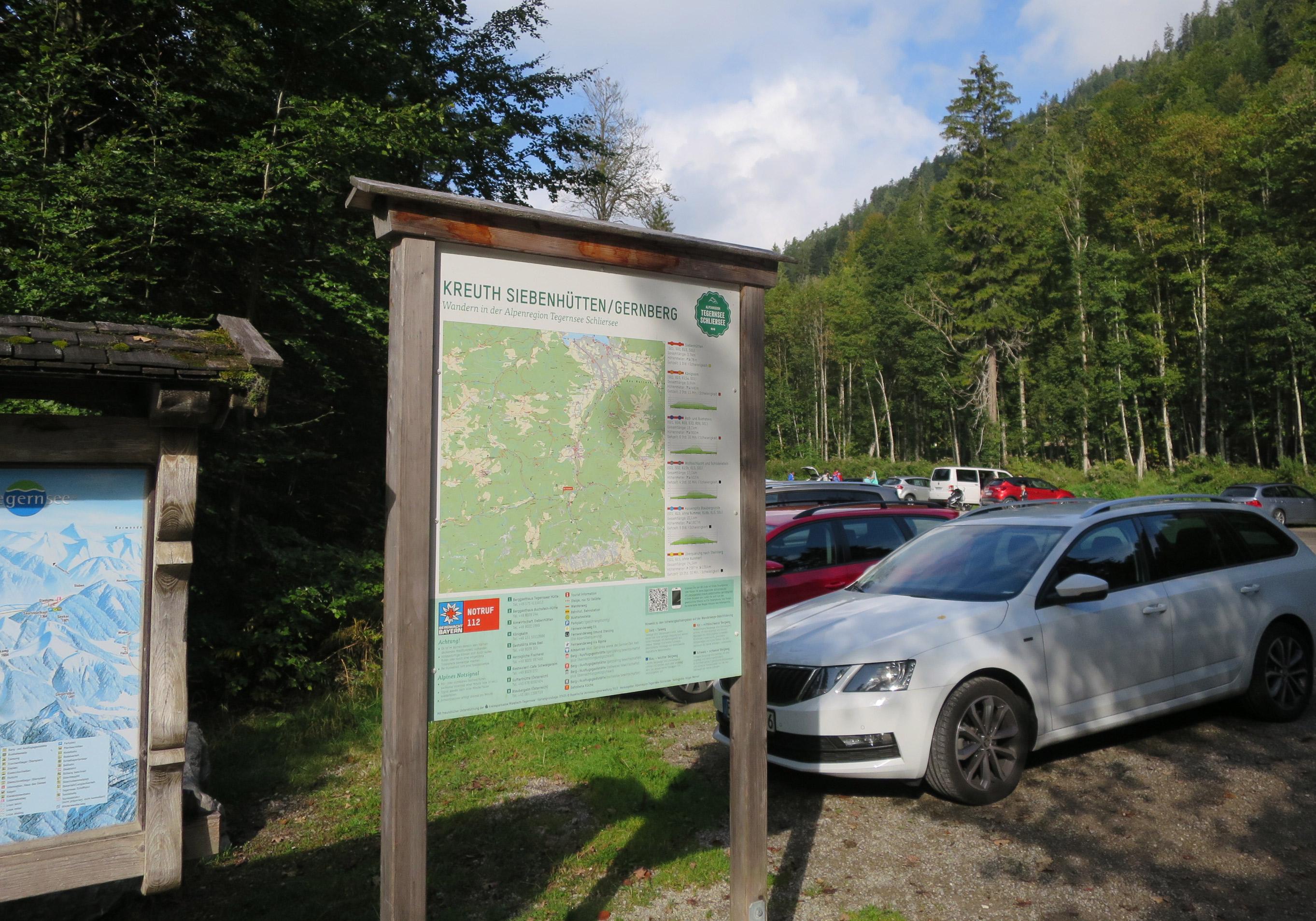 Parkplatz Siebenhütten