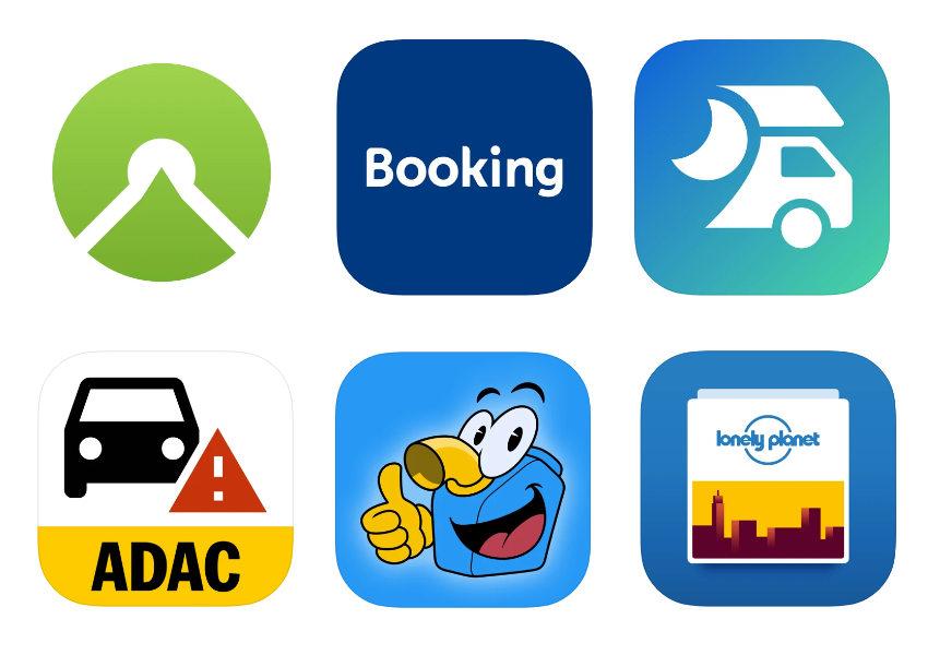 Apps für die Reiseplanung
