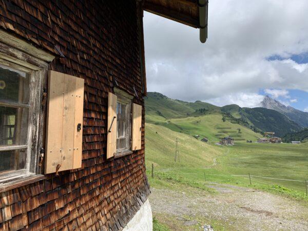 Altes Bauernhaus in Hochkrumbach