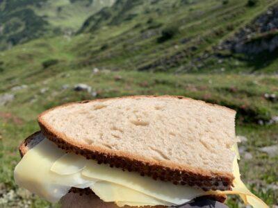 Brotzeit – Zwischem Koblatpass und Gemstelpass