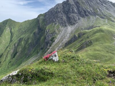 Blick hinüber zur Griestaler Spitze (2622m)