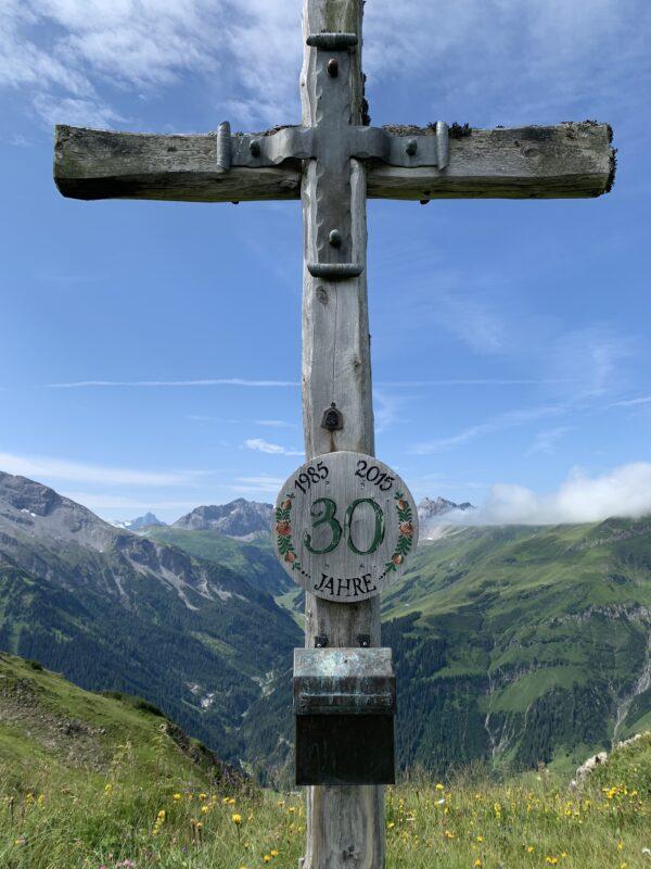 Gipfelkreuz Hahnleskopf (2210m)