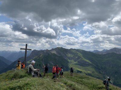 Gipfelkreuz am Warther Horn